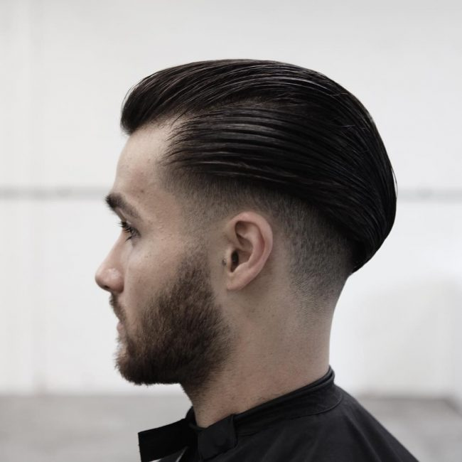 Charming Undercut and Slicked back Mohawk
