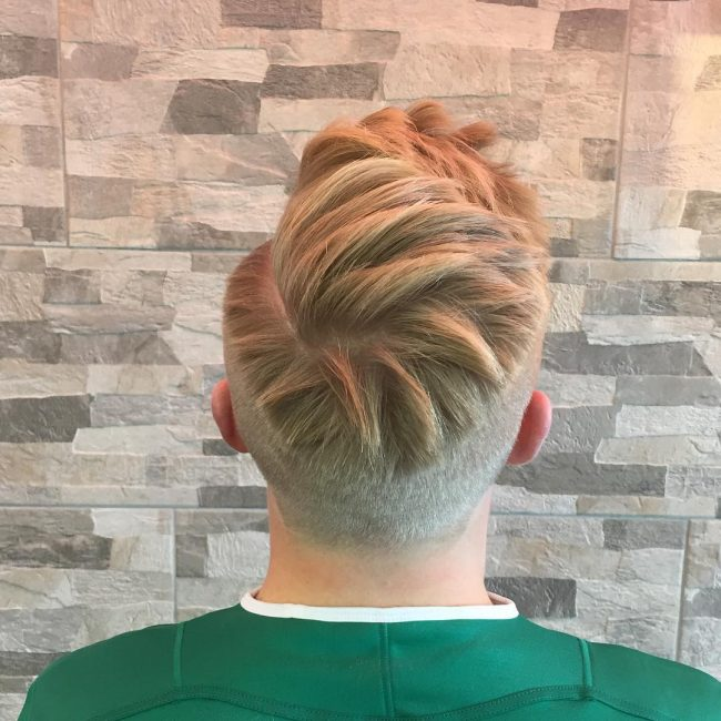 Chunky Crown Bangs with Tapered Sides