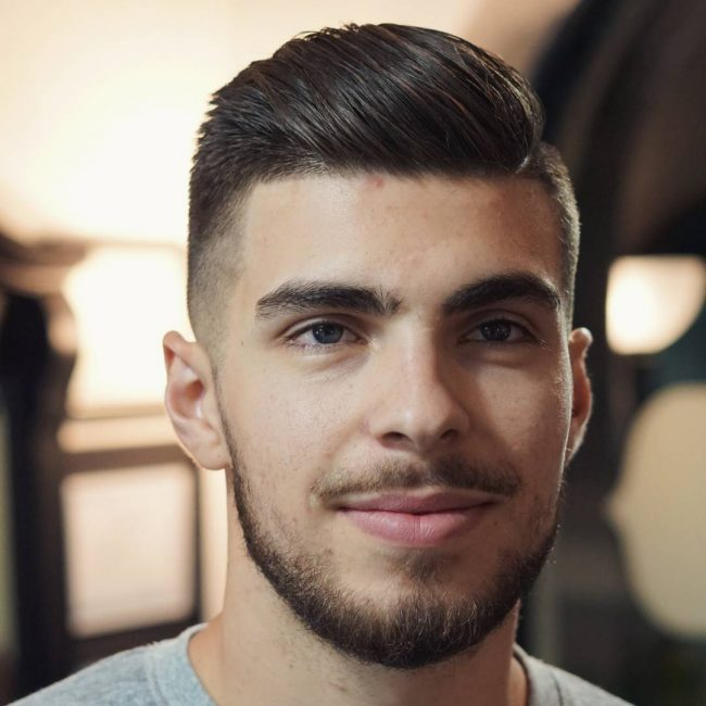 70 Exclusive Comb Over Taper Haircuts 2019 Trend