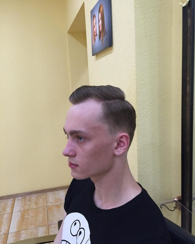 Crew Cut with Side Taper
