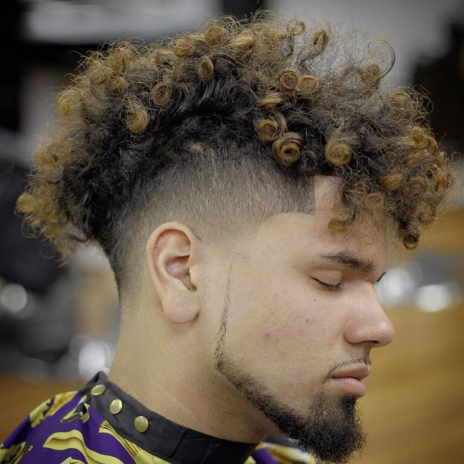 60 Stunning Curly Mohawk Designs 2019 Bad Boy Style