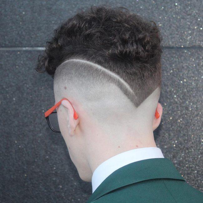 Curly V-Shape Cut