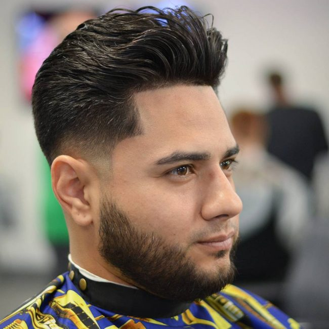 Dimensional Texture and Low Skin Fade