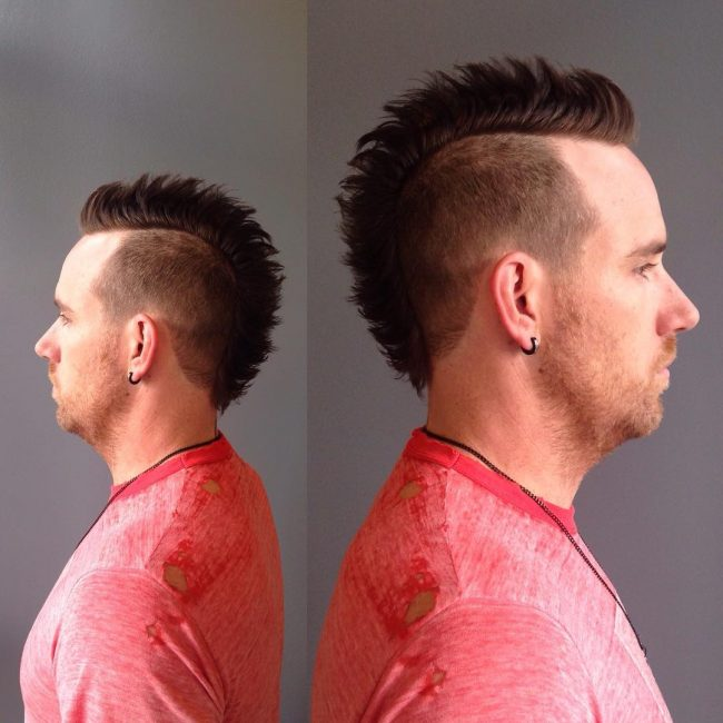 Edgy and Tapered Cut