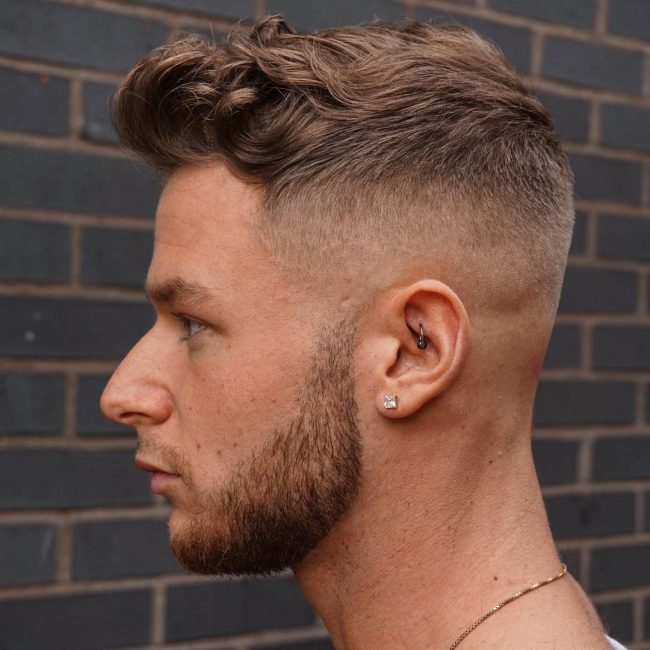 Fade Cut for Wavy Front