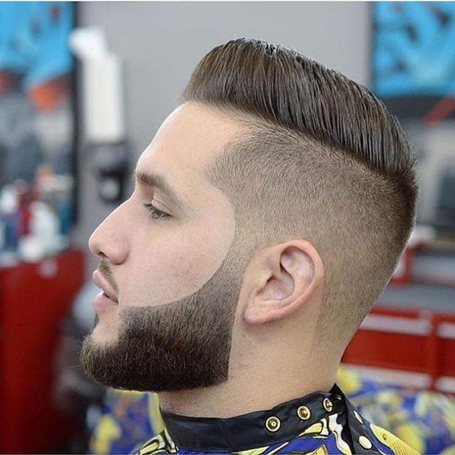 Gorgeous Faded Full Beard