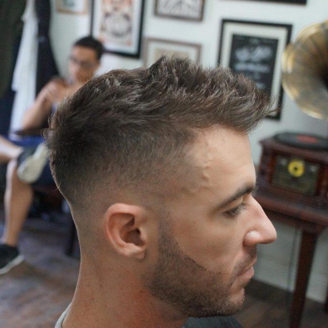 Hairstyles for Balding Men 65
