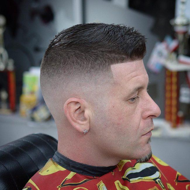 Hairstyles for Balding Men 75