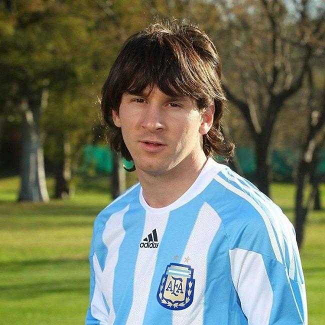 Messi haircuts 23