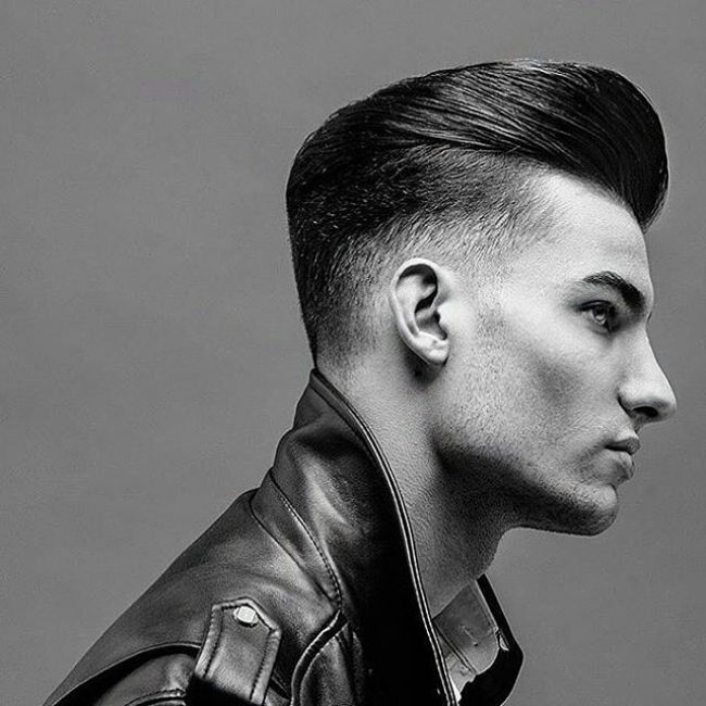 Fabulous 35 Effortless Slicked Back Undercut Styles Easy To Create Short Hairstyles Gunalazisus