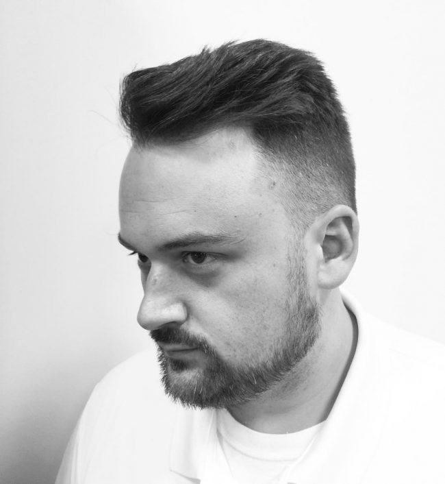 Neat and Tidy Fade Cut