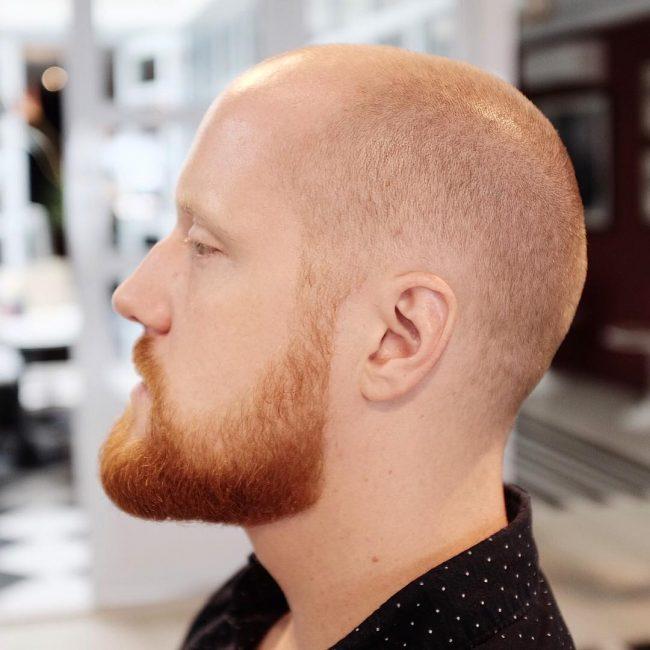 Redhead Buzz Cut