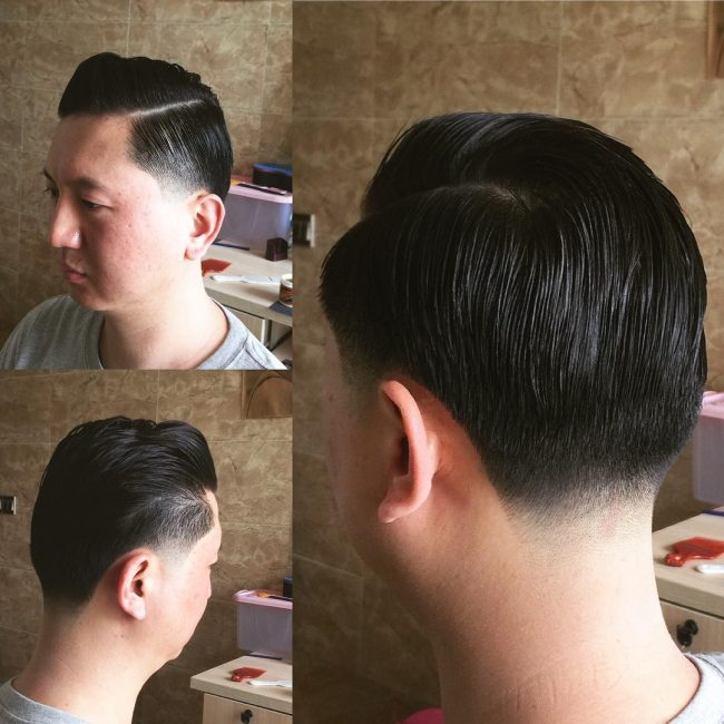 Sculpted Pompadour