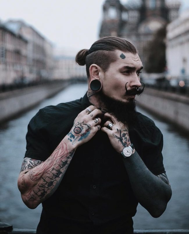 60 Effortless Slicked Back Undercut Be Trendy In 2018