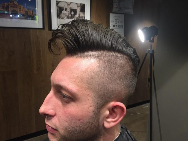 Sleek Comb Over