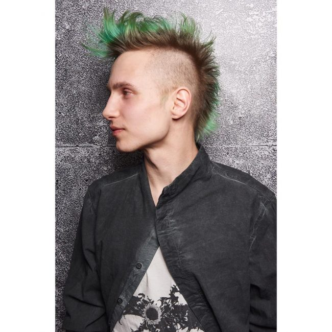 Spiky Long Top Mohawk