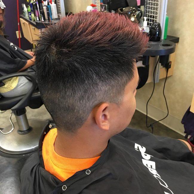 Spiky Redhead
