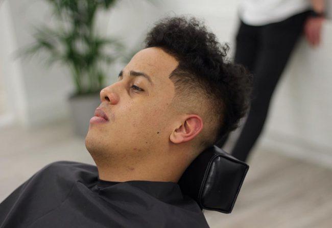 Tape up Haircut 45