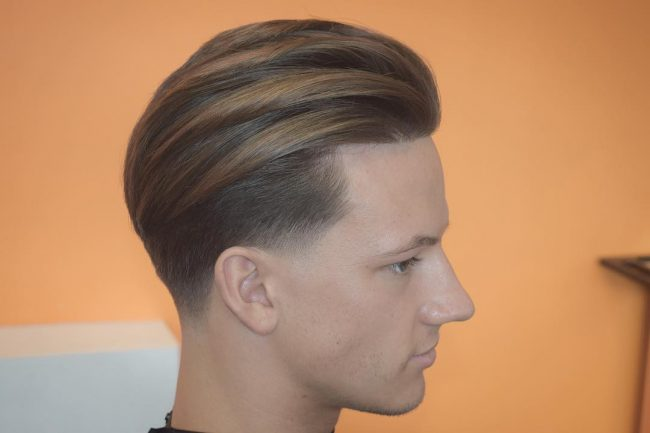 Textured and Tapered Slick Back