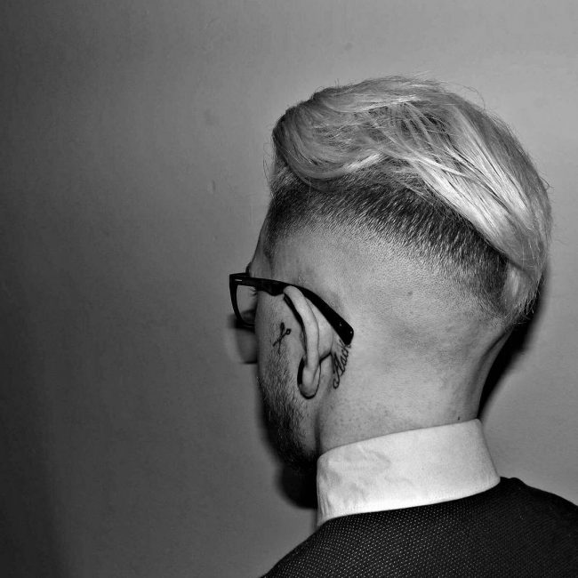 Tidy Skin Fade on a Slick Back