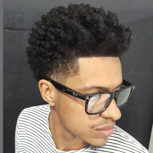 Top Fade Curls
