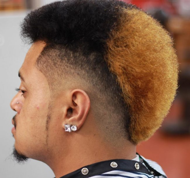 Two Toned Mohawk