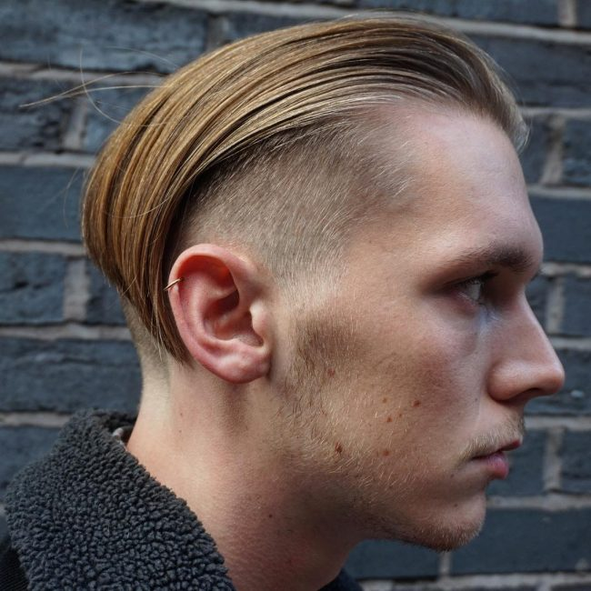 Undercut and Tuck Back Slick