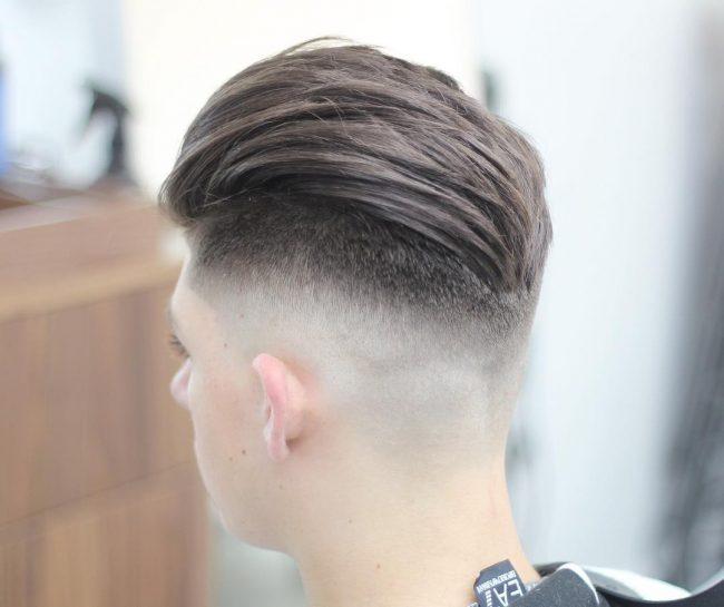 V-Shape Crop Cut