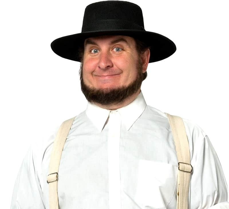 amish beard without mustache