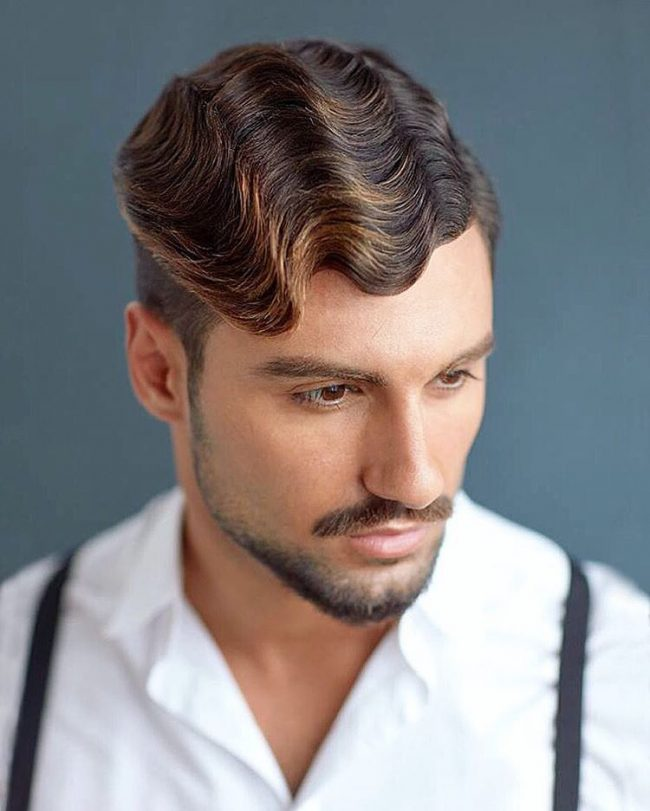 mens hair highlight styles 65 best highlights on hair designs 2019 colors 3579 | highlights on dark hair 48 650x811