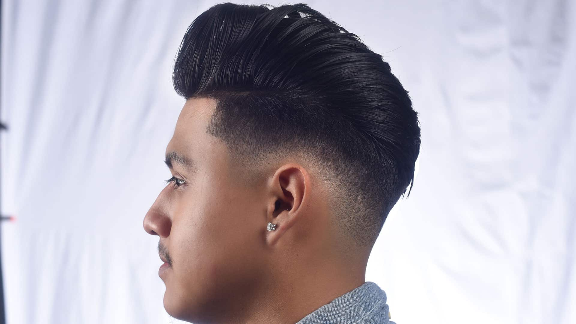 Hair Style For Guys: 55 Excellent Pompadour Fade Ideas