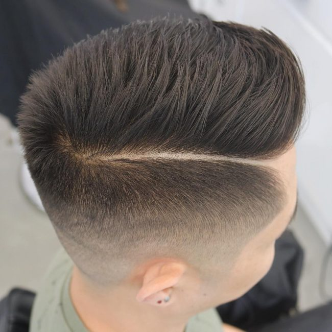 Neat Layered Comb Over