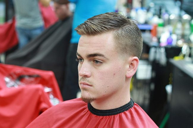 Short and Effortless Comb Over