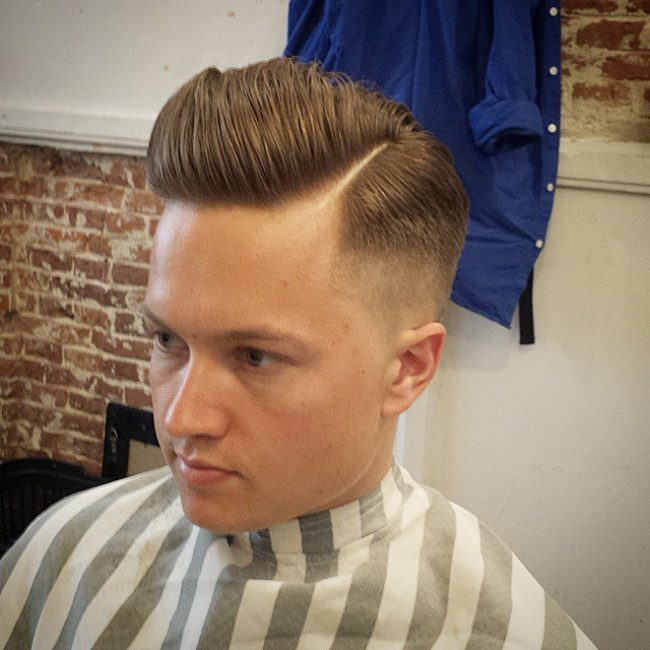 Clean and Faded Pomp