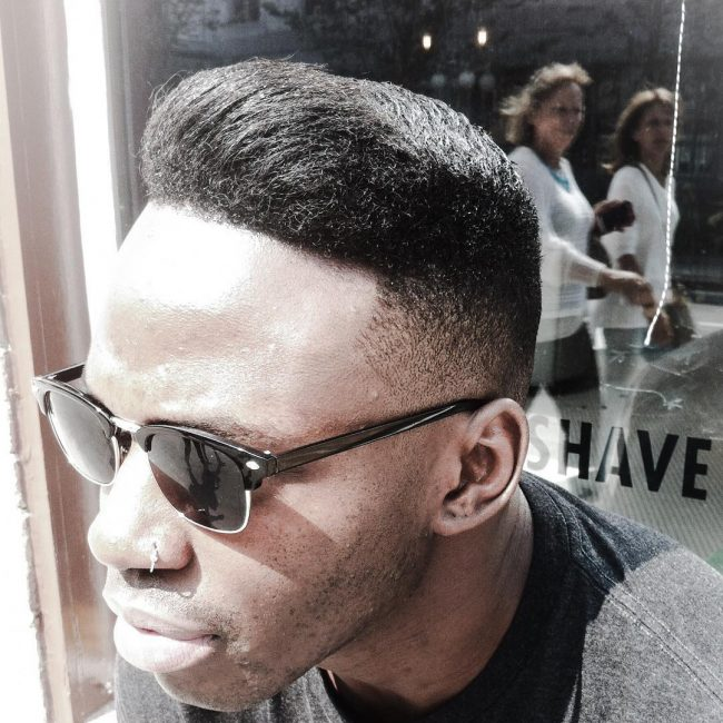 35 Thick and Easy Pompadour