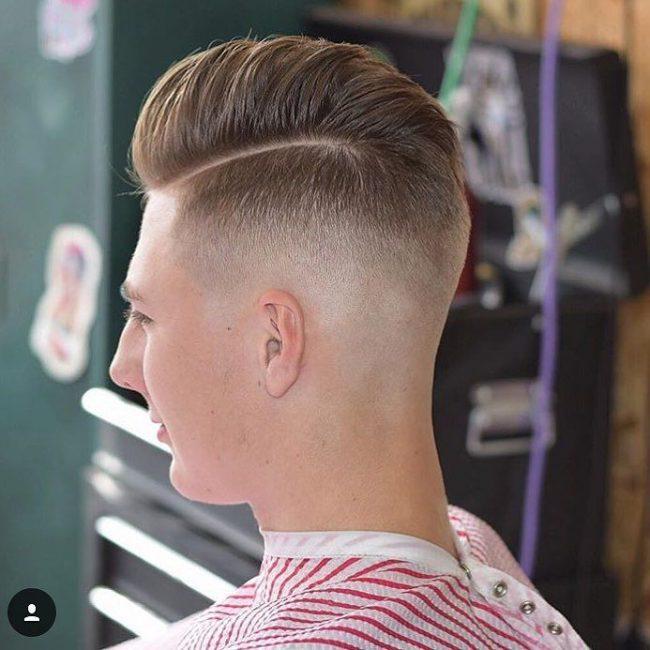 5 Sleek Comb Over Pomp