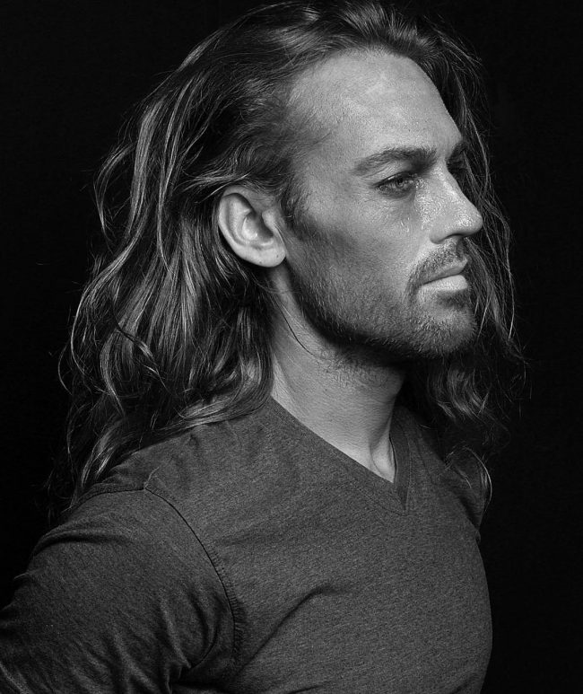 54 Luscious Back Swept and Free Flowing Locks