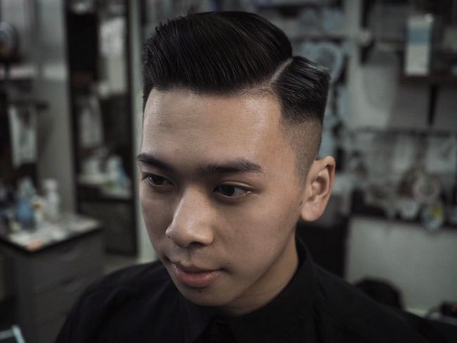 side part haircuts 46