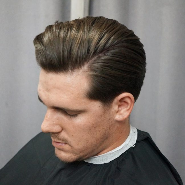 side part haircuts 47