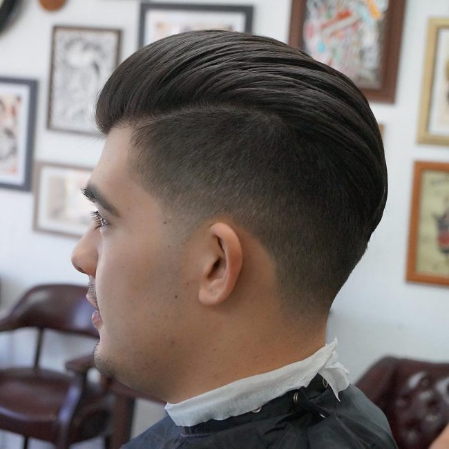 side part haircuts 48