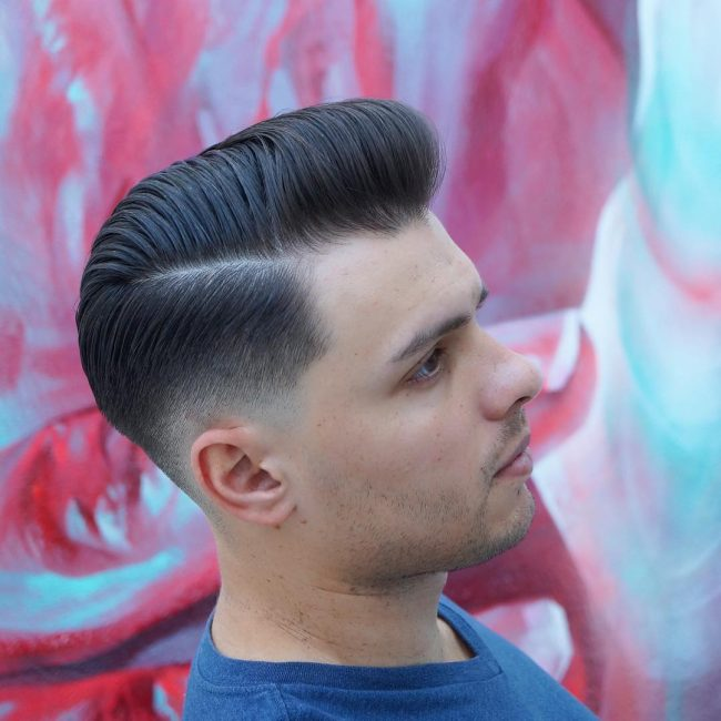 side part haircuts 49