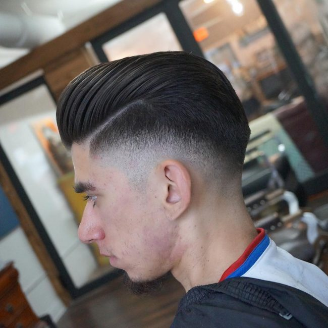 side part haircuts 52