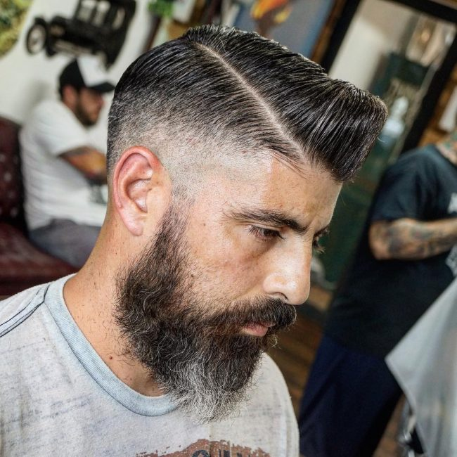 side part haircuts 56