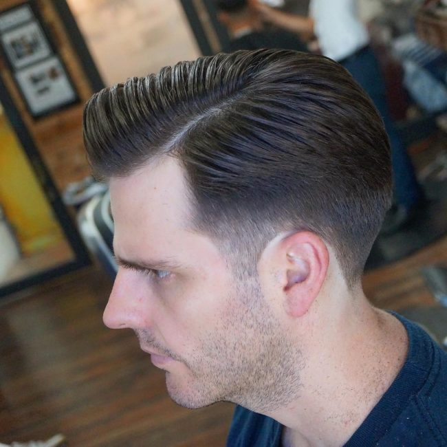 side part haircuts 58