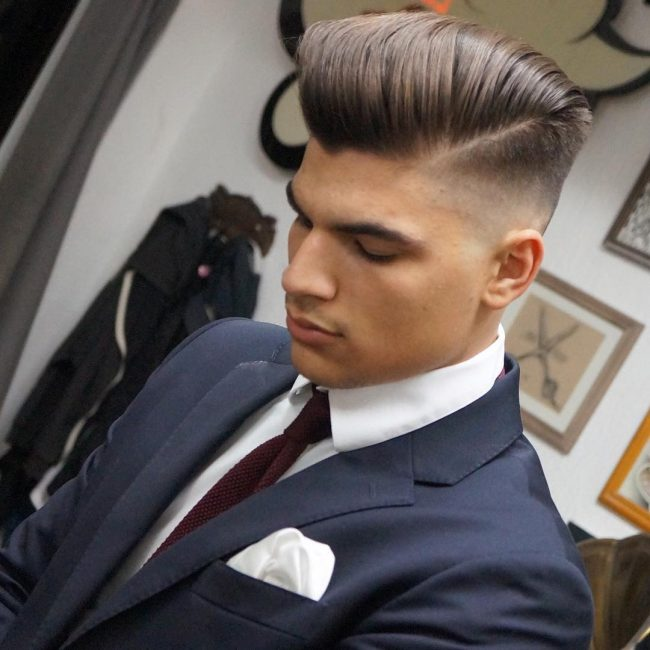 side part haircuts 61