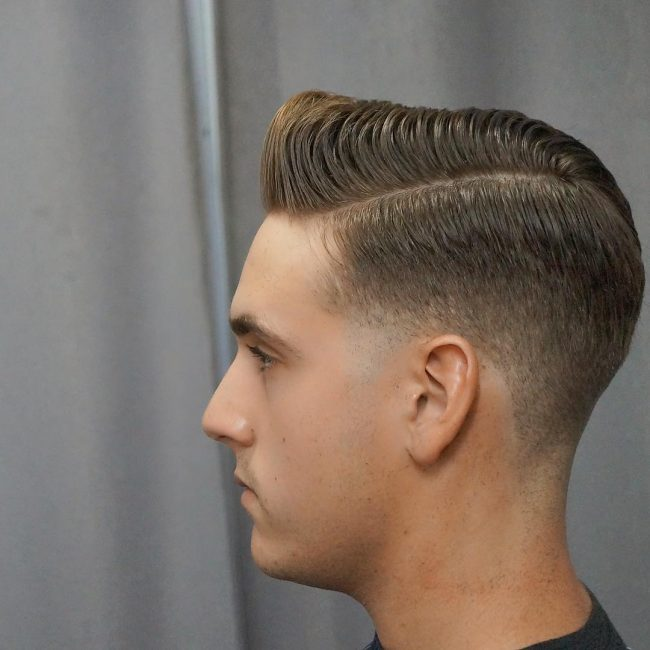 side part haircuts 64