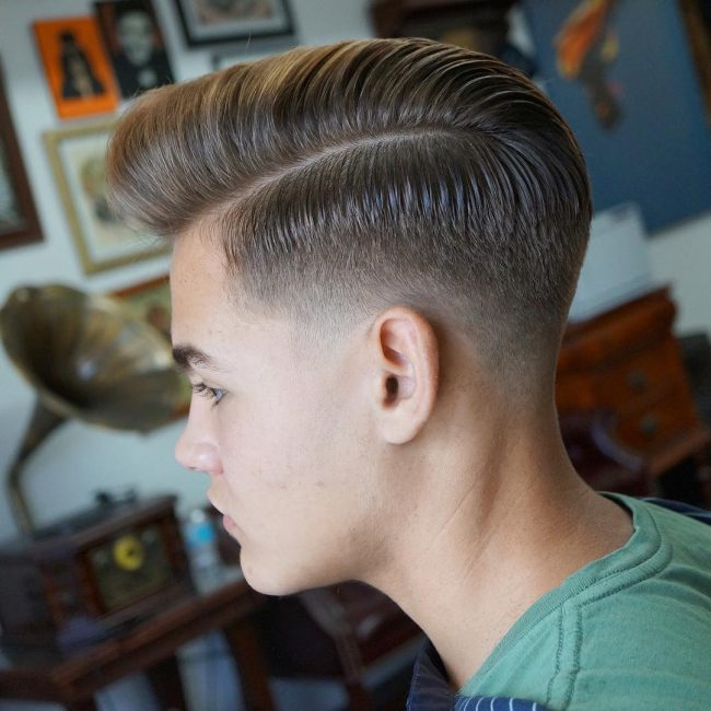 side part haircuts 67
