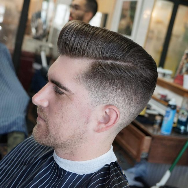side part haircuts 68
