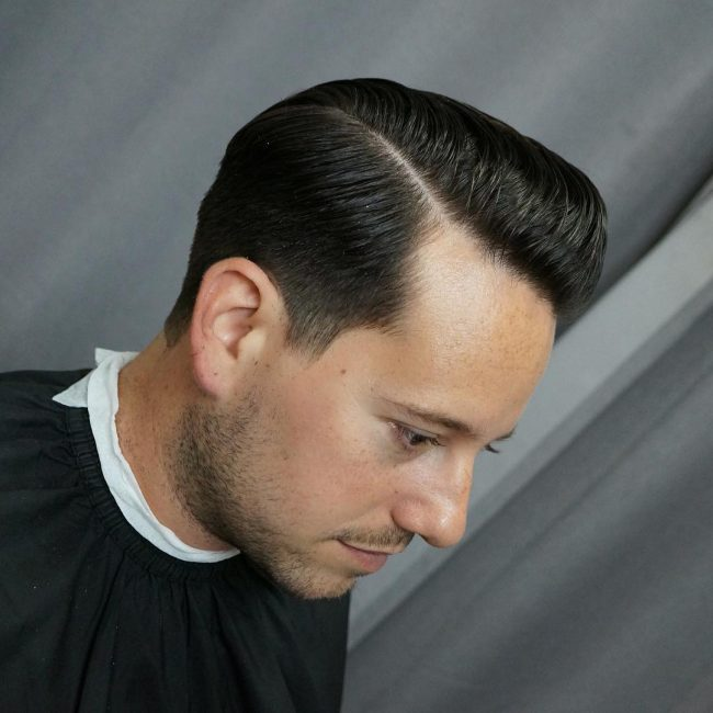 side part haircuts 69