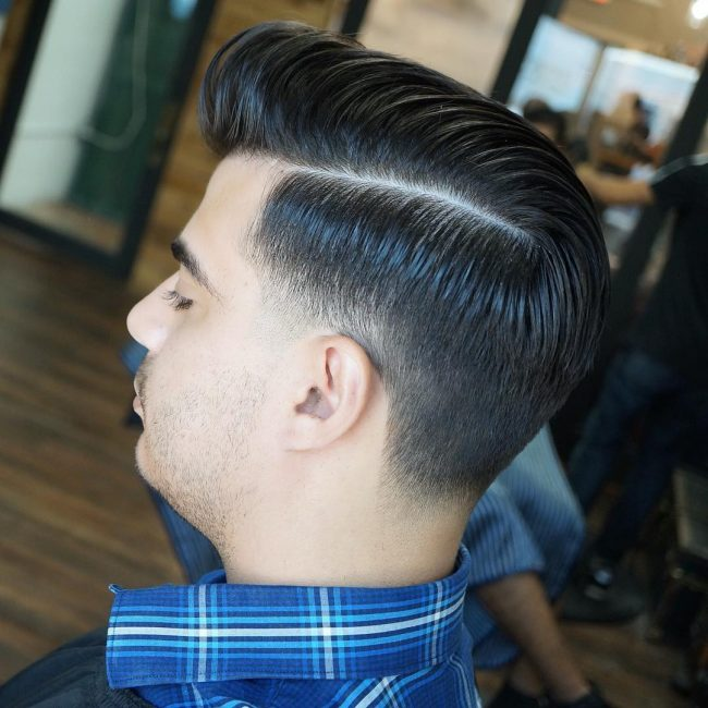 side part haircuts 71